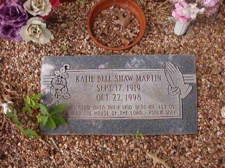 MARTIN, KATIE BELL - Columbia County, Arkansas | KATIE BELL MARTIN - Arkansas Gravestone Photos