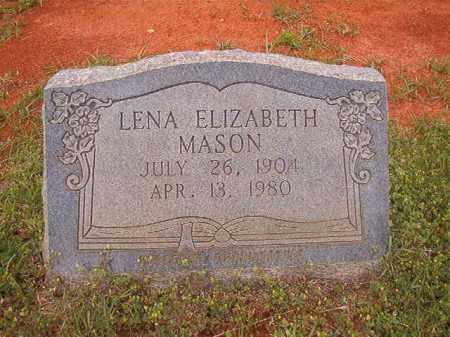 MASON, LENA ELIZABETH - Columbia County, Arkansas | LENA ELIZABETH MASON - Arkansas Gravestone Photos