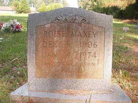 MAXEY, ROISE - Columbia County, Arkansas | ROISE MAXEY - Arkansas Gravestone Photos