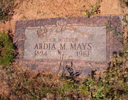 MAYS, ARDIA M - Columbia County, Arkansas | ARDIA M MAYS - Arkansas Gravestone Photos