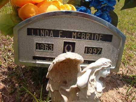 MCBRIDE, LINDA F - Columbia County, Arkansas | LINDA F MCBRIDE - Arkansas Gravestone Photos