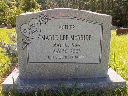 MCBRIDE, MABLE LEE - Columbia County, Arkansas | MABLE LEE MCBRIDE - Arkansas Gravestone Photos