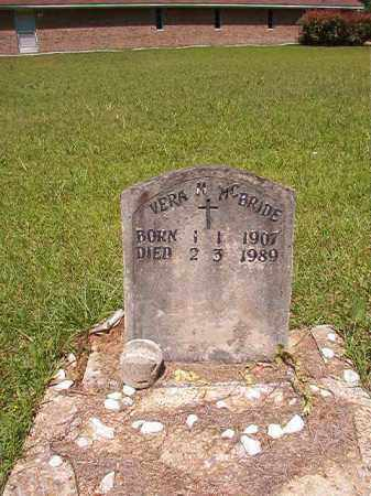 MCBRIDE, VERA M - Columbia County, Arkansas | VERA M MCBRIDE - Arkansas Gravestone Photos