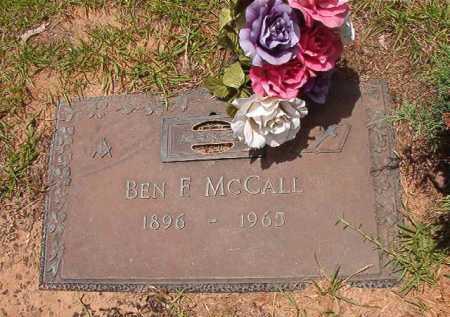MCCALL, BEN F - Columbia County, Arkansas | BEN F MCCALL - Arkansas Gravestone Photos