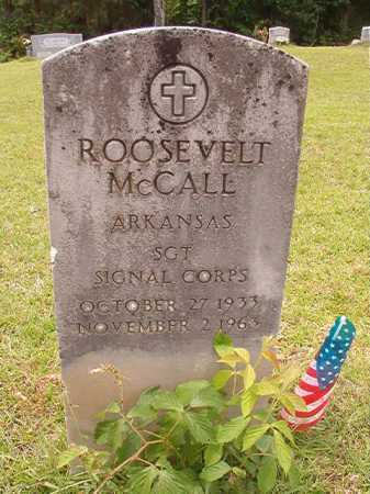 MCCALL (VETERAN), ROOSEVELT - Columbia County, Arkansas | ROOSEVELT MCCALL (VETERAN) - Arkansas Gravestone Photos