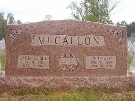 MCCALLON, LEVIE - Columbia County, Arkansas | LEVIE MCCALLON - Arkansas Gravestone Photos