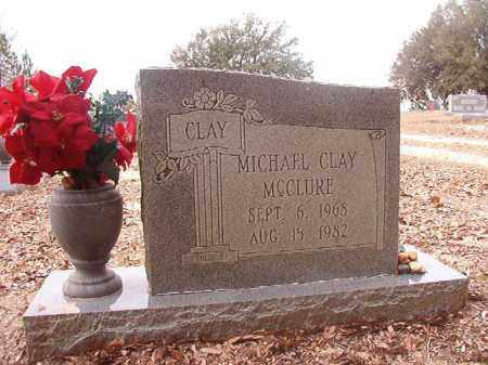 MCCLURE, MICHAEL CLAY - Columbia County, Arkansas | MICHAEL CLAY MCCLURE - Arkansas Gravestone Photos