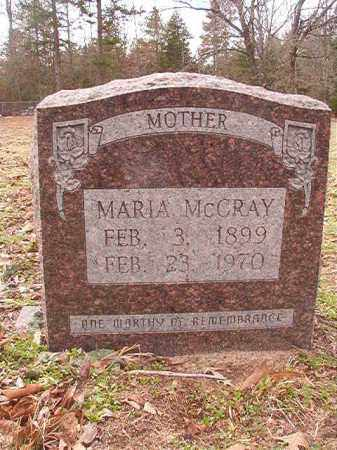 MCCRAY, MARIA - Columbia County, Arkansas | MARIA MCCRAY - Arkansas Gravestone Photos