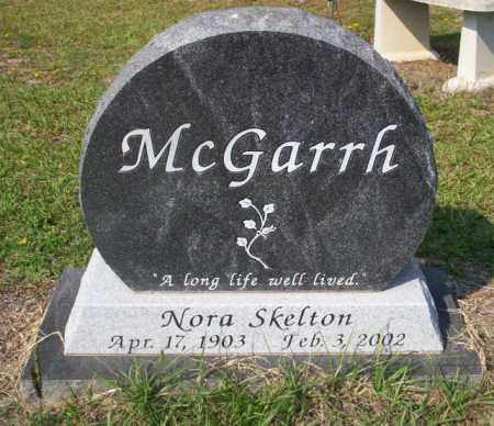 MCGARRH, NORA - Columbia County, Arkansas | NORA MCGARRH - Arkansas Gravestone Photos