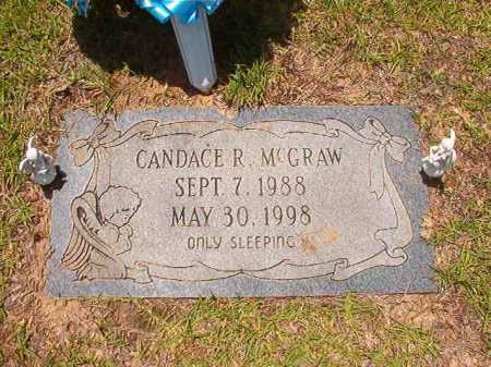 MCGRAW, CANDACE R - Columbia County, Arkansas | CANDACE R MCGRAW - Arkansas Gravestone Photos