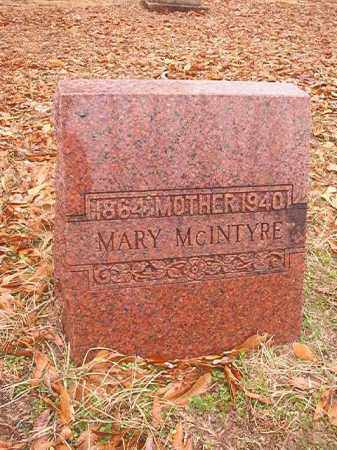MCINTYRE, MARY - Columbia County, Arkansas | MARY MCINTYRE - Arkansas Gravestone Photos