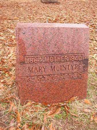MCINTYRE, MARY - Columbia County, Arkansas   MARY MCINTYRE - Arkansas Gravestone Photos