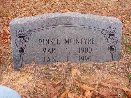 MCINTYRE, PINKIE - Columbia County, Arkansas | PINKIE MCINTYRE - Arkansas Gravestone Photos