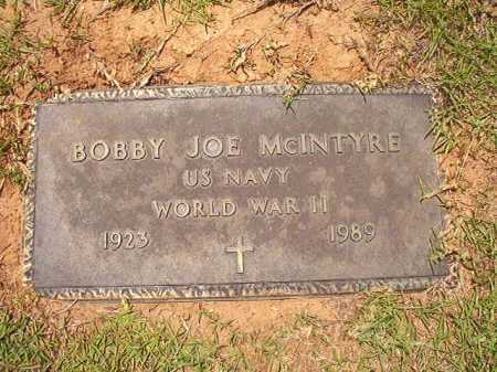 MCINTYRE (VETERAN WWII), BOBBY JOE - Columbia County, Arkansas | BOBBY JOE MCINTYRE (VETERAN WWII) - Arkansas Gravestone Photos