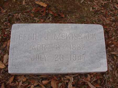 MCKISSACK, EFFIE J - Columbia County, Arkansas | EFFIE J MCKISSACK - Arkansas Gravestone Photos