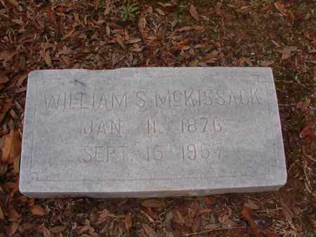 MCKISSACK, WILLIAM S - Columbia County, Arkansas | WILLIAM S MCKISSACK - Arkansas Gravestone Photos