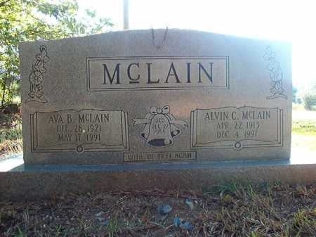MCLAIN, AVA B - Columbia County, Arkansas | AVA B MCLAIN - Arkansas Gravestone Photos