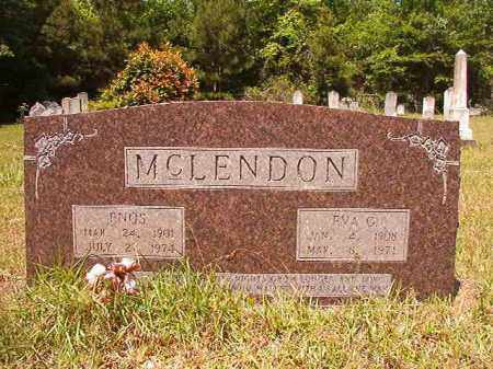 MCLENDON, ENOS - Columbia County, Arkansas | ENOS MCLENDON - Arkansas Gravestone Photos
