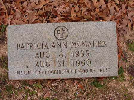 MCMAHEN, PATRICIA ANN - Columbia County, Arkansas | PATRICIA ANN MCMAHEN - Arkansas Gravestone Photos