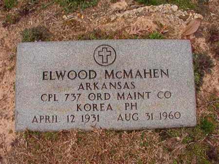 MCMAHEN (VETERAN KOR), ELWOOD - Columbia County, Arkansas | ELWOOD MCMAHEN (VETERAN KOR) - Arkansas Gravestone Photos