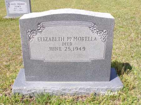 MCMORELLA, ELIZABETH - Columbia County, Arkansas | ELIZABETH MCMORELLA - Arkansas Gravestone Photos