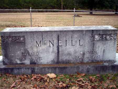 MCNEILL, EDWARD - Columbia County, Arkansas | EDWARD MCNEILL - Arkansas Gravestone Photos