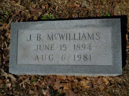 MCWILLIAMS, J B - Columbia County, Arkansas | J B MCWILLIAMS - Arkansas Gravestone Photos
