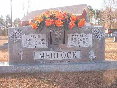 MEDLOCK, ERVIN - Columbia County, Arkansas | ERVIN MEDLOCK - Arkansas Gravestone Photos