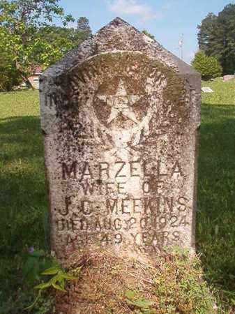 MEEKINS, MARZELLA - Columbia County, Arkansas | MARZELLA MEEKINS - Arkansas Gravestone Photos