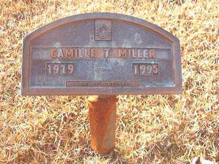 MILLER, CAMILLE T - Columbia County, Arkansas | CAMILLE T MILLER - Arkansas Gravestone Photos