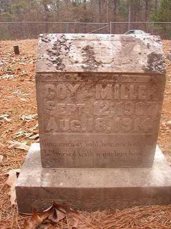 MILLER, COY - Columbia County, Arkansas | COY MILLER - Arkansas Gravestone Photos