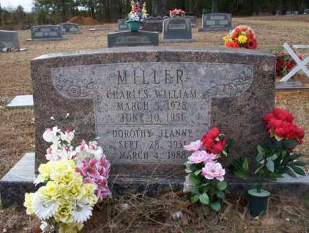 MILLER, CHARLES WILLIAM - Columbia County, Arkansas | CHARLES WILLIAM MILLER - Arkansas Gravestone Photos