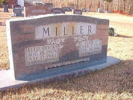 MILLER, ELLIS DOCK - Columbia County, Arkansas | ELLIS DOCK MILLER - Arkansas Gravestone Photos