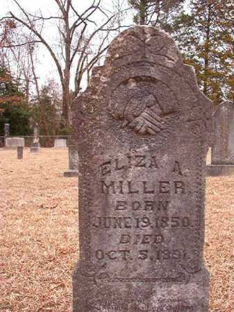 MILLER, ELIZA A - Columbia County, Arkansas | ELIZA A MILLER - Arkansas Gravestone Photos