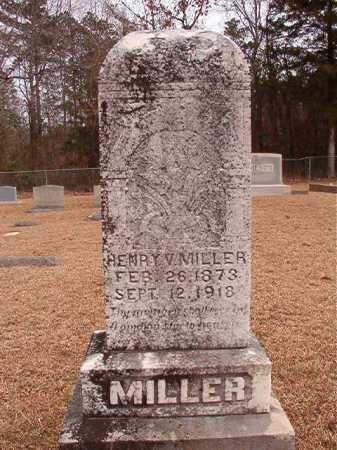 MILLER, HENRY V - Columbia County, Arkansas | HENRY V MILLER - Arkansas Gravestone Photos
