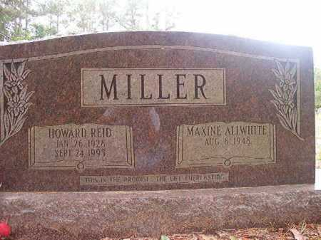 MILLER, HOWARD REID - Columbia County, Arkansas | HOWARD REID MILLER - Arkansas Gravestone Photos