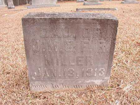 MILLER, INFANT DAUGHTER - Columbia County, Arkansas | INFANT DAUGHTER MILLER - Arkansas Gravestone Photos