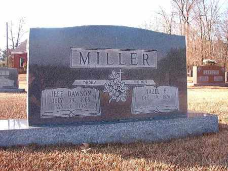 MILLER, JEFF DAWSON - Columbia County, Arkansas | JEFF DAWSON MILLER - Arkansas Gravestone Photos