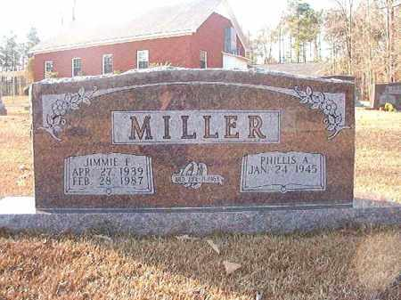 MILLER, JIMMIE F - Columbia County, Arkansas | JIMMIE F MILLER - Arkansas Gravestone Photos
