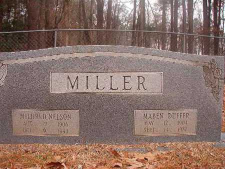 NELSON MILLER, MILDRED - Columbia County, Arkansas | MILDRED NELSON MILLER - Arkansas Gravestone Photos