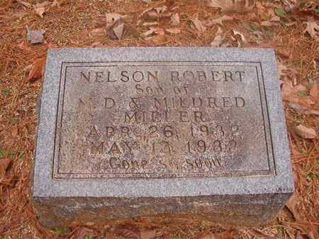 MILLER, NELSON ROBERT - Columbia County, Arkansas | NELSON ROBERT MILLER - Arkansas Gravestone Photos