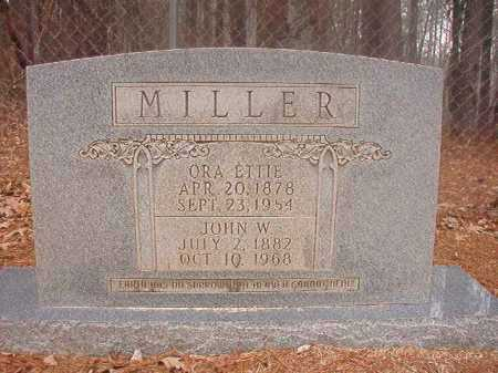 MILLER, ORA ETTIE - Columbia County, Arkansas | ORA ETTIE MILLER - Arkansas Gravestone Photos