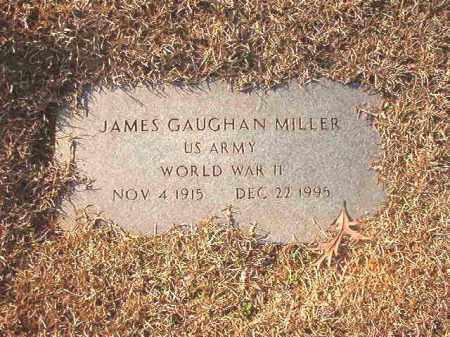 MILLER (VETERAN WWII), JAMES GAUGHAN - Columbia County, Arkansas | JAMES GAUGHAN MILLER (VETERAN WWII) - Arkansas Gravestone Photos