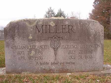 CARRINGTON MILLER, FLORENCE - Columbia County, Arkansas | FLORENCE CARRINGTON MILLER - Arkansas Gravestone Photos