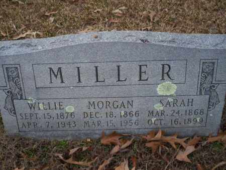 MILLER, WILLIE - Columbia County, Arkansas | WILLIE MILLER - Arkansas Gravestone Photos