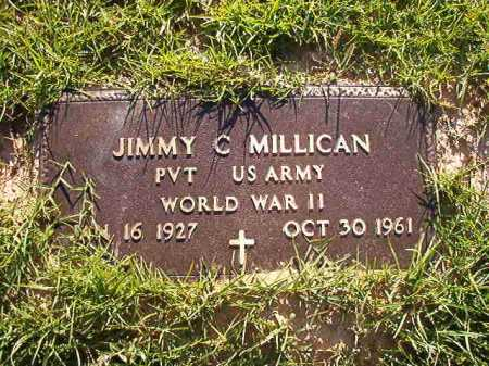 MILLICAN (VETERAN WWII), JIMMY C - Columbia County, Arkansas | JIMMY C MILLICAN (VETERAN WWII) - Arkansas Gravestone Photos