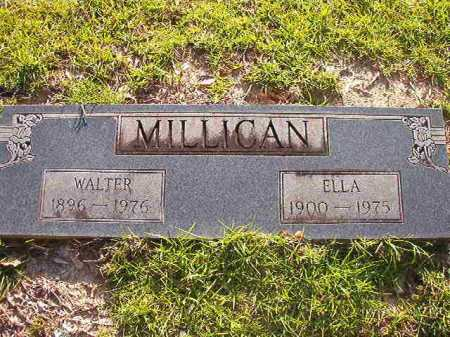 MILLICAN, WALTER - Columbia County, Arkansas | WALTER MILLICAN - Arkansas Gravestone Photos