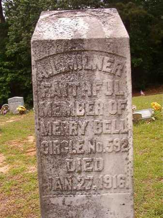 MILNER, A L - Columbia County, Arkansas | A L MILNER - Arkansas Gravestone Photos