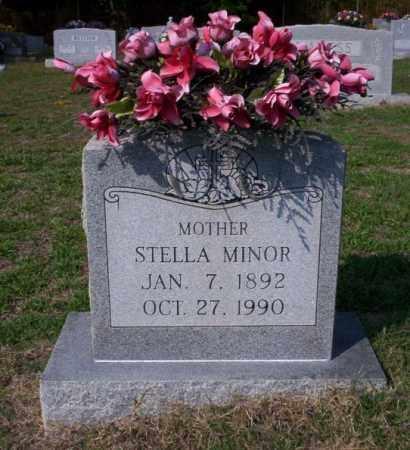 MINOR, STELLA - Columbia County, Arkansas | STELLA MINOR - Arkansas Gravestone Photos
