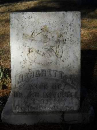 MITCHELL, MARGRETT A - Columbia County, Arkansas | MARGRETT A MITCHELL - Arkansas Gravestone Photos